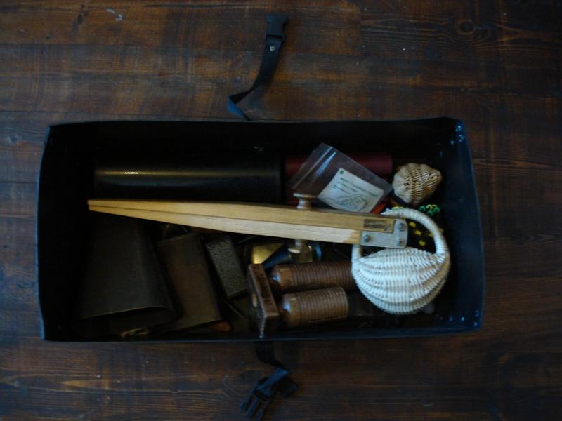 Cowbells,wood blocks, slapstick
